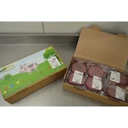 Kit 30 Steaks hachés purs bœuf 3 % de MG