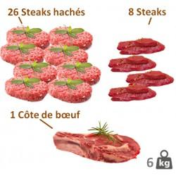 Lot steak haché+++